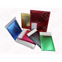 Quality Aluminum Metallic Mailing Bags Envelopes With Bubble Wrap Inside for sale