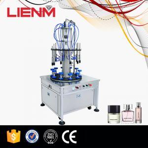 Guangzhou High Quality Automatic Ten Heads Rotary Perfume Liquid Filling Machine