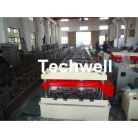Quality Cr12 Automatic Galvanized Steel Sheet Floor Deck Roll Forming Machine PLC frequency control for sale