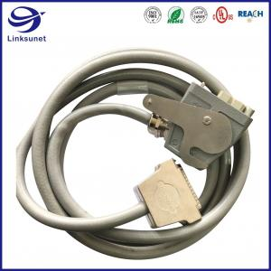 Quality Heavy Duty Wiring Harness with Han E 600V Male Crimp PC Connector for sale