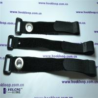 Quality 25mm  Cord Straps , Strong Black  Straps With Corns Button OEM Design for sale