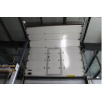 Quality 0.2-0.4m / S Commercial Sectional Doors , Insulated Sectional Overhead Doors for sale