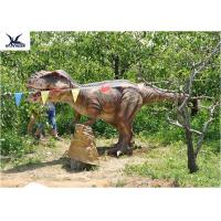 Buy Handmade Eyes Blink Dinosaur Lawn Ornament , Life Size Model Dinosaurs at wholesale prices