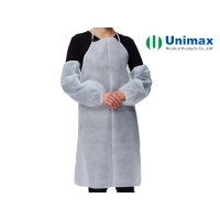 Quality 55gsm White Disposable Aprons for sale