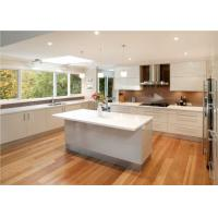 China Quartz Countertop Commercial Kitchen Cabinets , L Shaped Kitchen Cupboards on sale