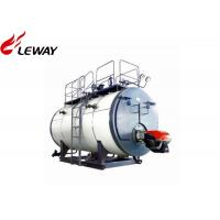 China High Efficiency Oil Fired Central Heating Boilers Fire Tube Structure 0.5 - 20T Capacity on sale