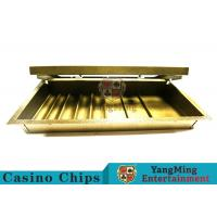 Casino Dedicated 1 Layer Poker Chip Case Classic Style With Double Lock