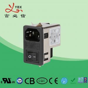 Quality Yanbixin 1A-10A 120 250VAC Inline EMI Filter / AC Socket EMI EMC Filter for sale