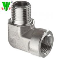 Quality Hose threaded fittings NPT male 90 degree hose adapter for sale