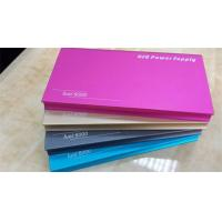 Portable battery pack birthday gift power bank 5000 mobile charger metal