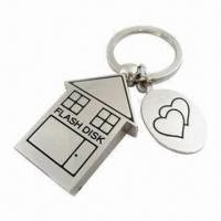 Quality Mini Houses USB Flash Drives with 32MB to 16GB Capacity, OEM and ODM Orders Welcomed for sale