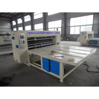 Quality Chain Feeding Rotary Cutting Machine With Removable Slotting Device Creasing Punching for sale