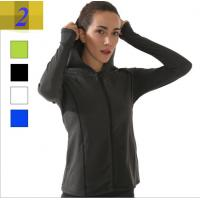 Quality Korean version of 2017 new running fitness was thin and comfortable zipper hooded sports casual jacket for sale