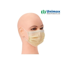 Quality Three Layer High Filtration Unimax Medical Mask for sale