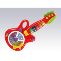 Baby Learning Toys, DIY Toys, Intelligent Toys, B/O Funny Baby Guitar (H0895069)