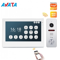 Buy cheap Tuya WiFi Ahd1080p front door Intercom Video Interphone System with Unique from wholesalers