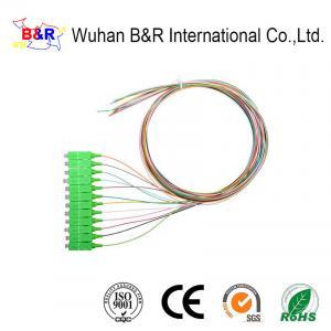 Quality LSZH 1m G652D SC Fiber Optic Pigtail For Telecom for sale