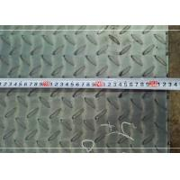 Quality Ms Tear Drop Checker Plate Steel S235JR-S355JR Series Decoration Anti Skid for sale