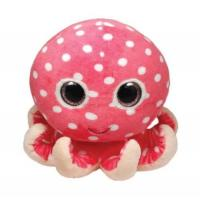 Quality Stufffed Plush Sea Animal Toys Stuffed Octopus with color eyes for sale