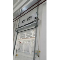 Quality Logistic Park Vertical Lift 80mm Overhead Sectional Door for sale
