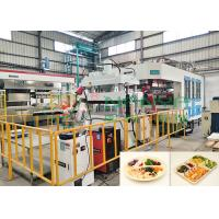 China Eco-Friendly Auto Robot Arm Bagasse Fiber Tableware Making Machinery on sale