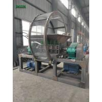 Quality 4000kg/h Capacity Single Shaft Shredder Machine For Crushing Scrap Plastics for sale