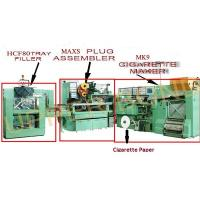 Quality 3 Phase Cigarette Rolling Machines Filter Assembling And Tray Filler , High Speed for sale