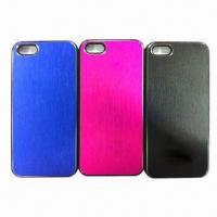 Quality Aluminum Cases for iPhone 5, Available in Various Colors for sale