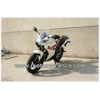 Quality Blue And White Honda Sports Car CBR200 Drag Racing Motorcycles With Air Cooling for sale