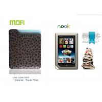 China Logo Laser Personalized Mofi Tablet Protective Leather Nook Covers With Super Fiber on sale