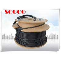 Buy cheap Black Outdoor Fiber Patch Cord LC To LC Fiber Cable 75m 60m 45m 40m 10m from wholesalers