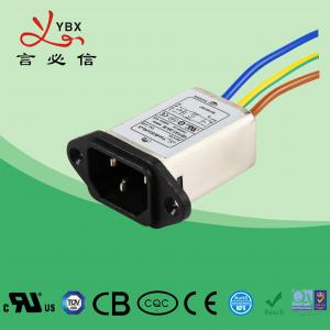 Quality Low Pass Emi Rfi Noise Filter 10A 120V/250V Environmental Temperature 40°C for sale