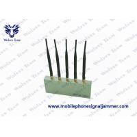 Quality 5 Antenna With Remote Control Mobile Phone Signal Jammer for sale