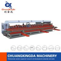 Quality Ceramic Tiles Polishing Machine automatic marble tile arc edge polishing stair step skirting machine make in CKD company for sale