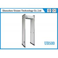 Buy cheap UNIQSCAN 6 Zones Pass Through Door Frame UB500 Arch Airport Security 2 Years from wholesalers