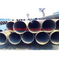 Quality TOBO GROUP Round Welded Stainless Steel Tubing , ASTM A554 Large Dimaer Water Pipe for sale