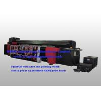 Quality High Speed UV Roll To Roll Printer Ricoh Gen5 Print Heads For Flexible Substrates for sale