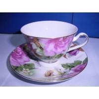 China Porcelain Tea Cup and Saucer on sale