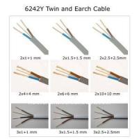 Quality 6mm2 6242y Twin & Earth Cable for sale