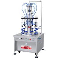 China 10 Filling Nozzles Automatic Perfume Vacuum Filling Machine in Guangzhou wholesale