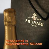 Quality luxury paper carrier bag wholesale paper bags with handle, decorative luxury recyclable fashion paper bags with your own for sale