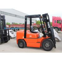 Quality High Safety Operation Diesel Forklift Truck 3T With Long Fork And Fork Extension for sale