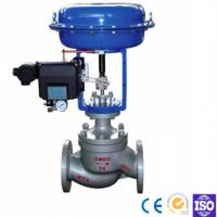 Quality Straight Through Pneumatic Diaphragm Double Seat Casting Ball Type Control Valve for sale