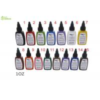 China kuro Sumi Tattoo Ink Pigment 0.5 Oz 15 Color Set For Starter / Beginner on sale