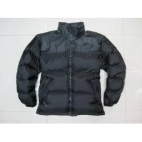 China Mens Leather Down Jacket Coat on sale