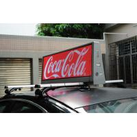 China Digital Outdoor SMD 3 In 1 P5 Taxi LED Display , Taxi / Car Roof Top Advertising on sale