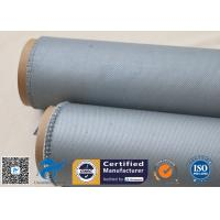 """Buy cheap Grey Silicone Coated Fiberglass Fabric 1050GSM 39"""" 3784 Heavy Duty Fire Safe from wholesalers"""