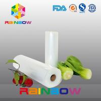 Quality Eco Friendly Fruit Food Vacuum Seal Bags With Roll / Vegetable Mesh Bag for sale