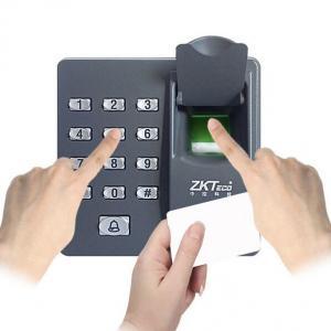 Quality EchoFlove X6 biometric fingerprint access controller Electric RFID Reader Finger Scanner Code System for sale