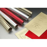 Gold Silver Hot Stamping Foil For Greeting Card / Label / Red Packets